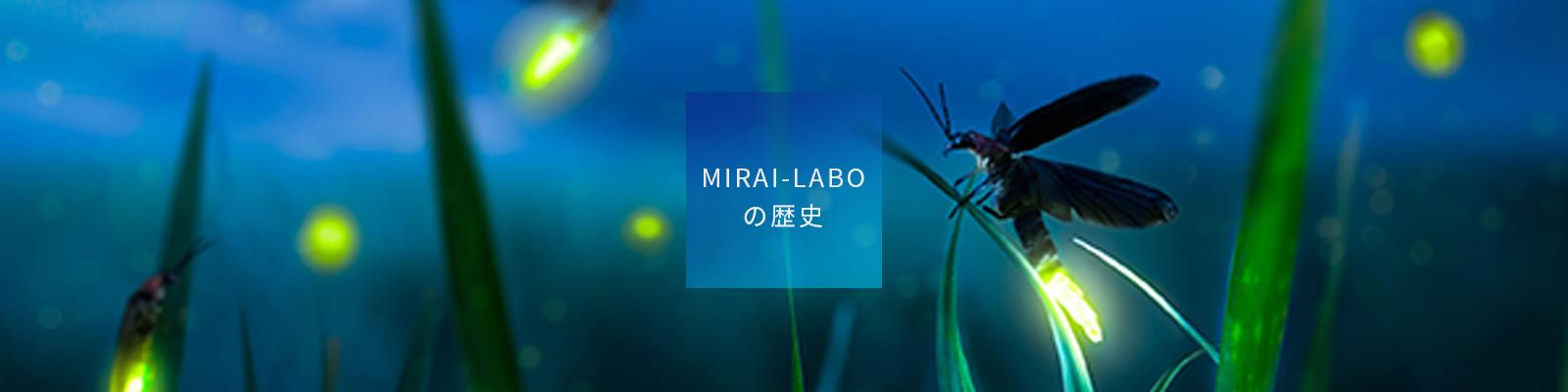 MIRAI-LABOの歴史